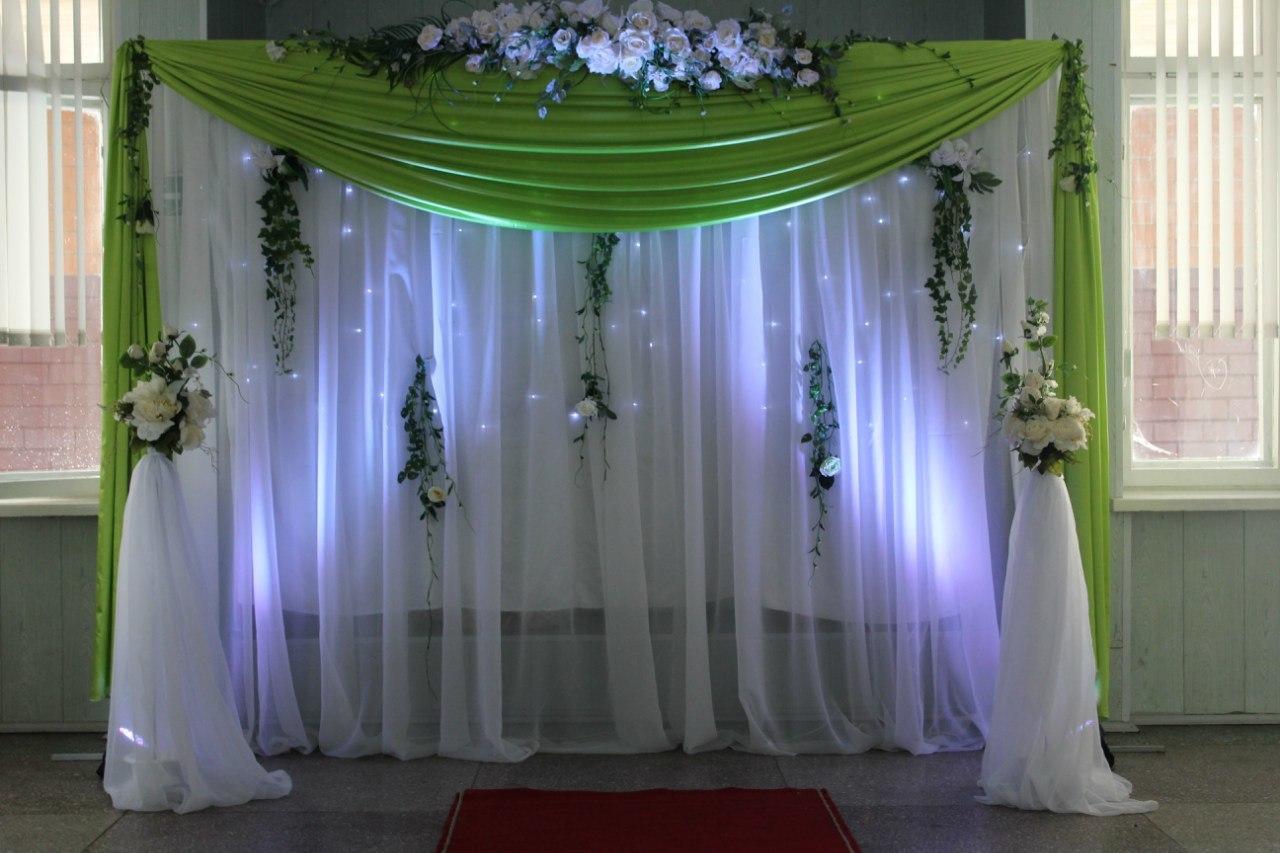 Декор свадебного зала своими руками - фото примеров 51